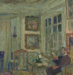 Arthur Fontaine lisant--I