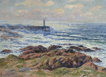 Audierne, Le phare