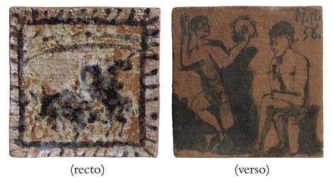 Picador (recto); Faune (verso)