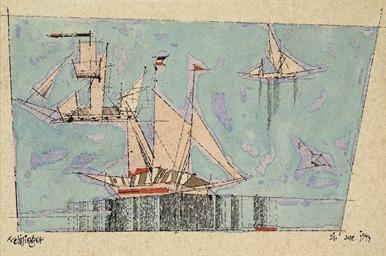 Untitled (Sailing Boats and Bu