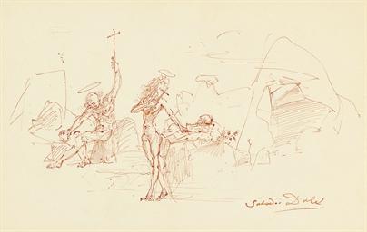 Deux figures à la croix