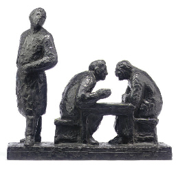 A DUTCH BRONZE ENTITLED FEDJA'
