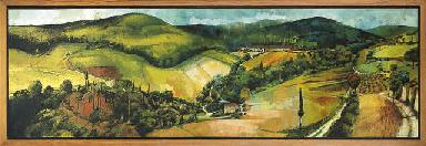 Rolling hills, Tuscany