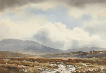A showery day near Falcarragh,