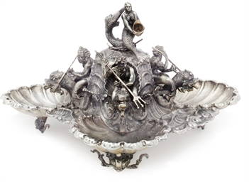 AN ITALIAN METALWARE REPLICA O