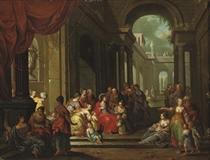 'Christ suffering the Children to come unto Him'