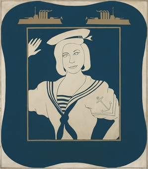 Portrait of Hollis Solomon in a Sailor Suit