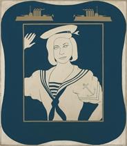 Portrait of Hollis Solomon in a Sailor Suit