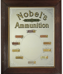 A RARE AND UNUSUAL NOBEL AMMUN
