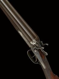 A 12-BORE HAMMER GUN BY HOLLAN