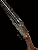 A FINE .375 H & H MAGNUM BELTED RIMLESS 'ROYAL MODEL DE LUXE'  DOUBLE-BARRELLED SIDELOCK EJECTOR SPORTING RIFLE BY HOLLAND & HOLLAND, NO. 35152