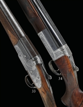 AN INTERESTING 12-BORE SINGLE-BARREL SIDELOCK EJECTOR GUN BY CHARLES LANCASTER, NO. 08201