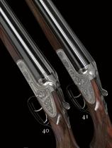 AN AS NEW 12-BORE '47S' MODEL SIDELOCK EJECTOR GUN BY GEBRUDER MERKEL, NO. 790373