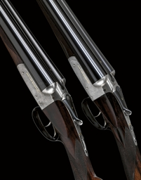 AN EARLY PAIR OF 12-BORE 'GOLD