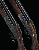 AN EXCEPTIONALLY FINE 12-BORE SINGLE-TRIGGER OVER-AND-UNDER SIDELOCK EJECTOR GUN BY J. PURDEY & SONS, NO. 28437