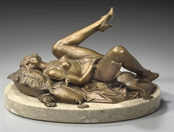 Erotic bronze