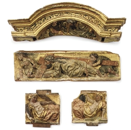 A COLLECTION OF SPANISH CARVED