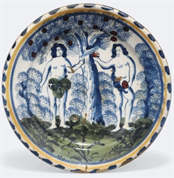 AN ENGLISH DELFT BLUE-DASH ADA