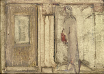 Untitled (Figure and Doorway)