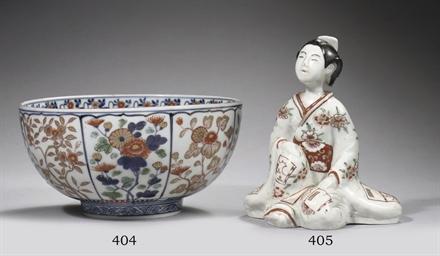 A Japanese Imari bowl