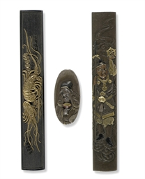 Two kozuka and a kashira