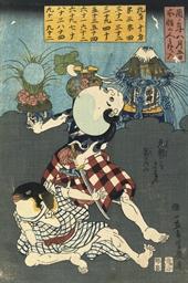 Utagawa Yoshiiku (1833-1904)
