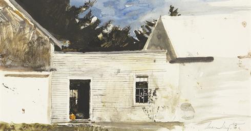 Pumpkin in Doorway