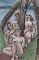 Untitled (Women in a Landscape)