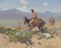 Indians on Horseback (Summer Hunt)