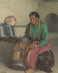 Taos Ceremonial Drum