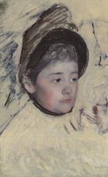 Woman Wearing Bonnet
