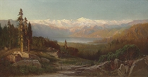 View in the Sierra Nevadas