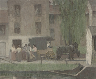 The Peddler's Cart on the Cana