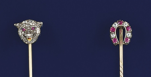 Two late 19th century ruby and