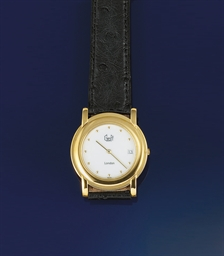 A QUARTZ WRISTWATCH, BY GRAFF