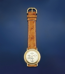 AN AUTOMATIC WRISTWATCH, BY BA