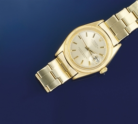 An automatic Datejust wristwat