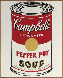 Campbell's Soup Can (Pepper Po