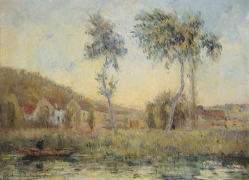 L'étang de Chalou-Moulineux