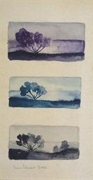 Trois études de paysage