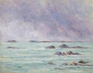 La mer à Paramé
