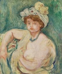 Femme au turban