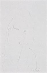 Portrait de femme (Projet d'il