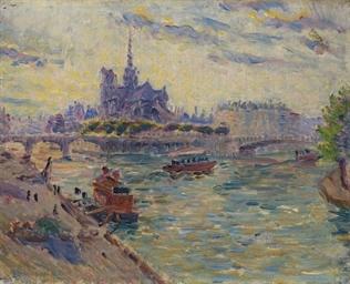 Vue de Notre-Dame de Paris