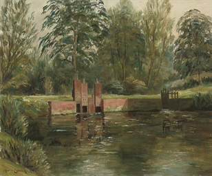On the river Lambourne