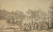 A busy day on the high street, Barnet, Middlesex