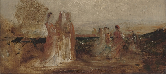 Figures from the painting Vint