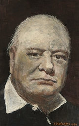 Portrait of Sir Winston Church