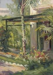 A Mediterranean garden