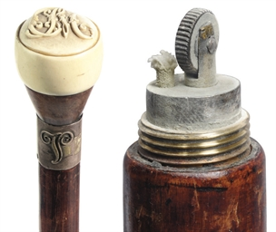 An ivory-handled gadget walkin